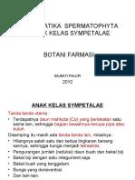 SIST.  SPERMATPHYTA SYMPETALAE