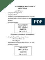 PROSEDUR PENGAMBILAN SAMPEL UNTUK UJI LABORATORIUM.docx