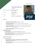 Curriculum Daniel