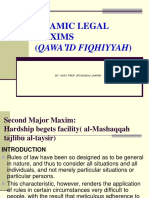 Al-masyaqqah Tajlibu Al Taysir Legal Maxim
