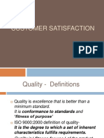customersatisfication model