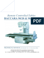 Apelem Baccara 90 Table - Service Manual