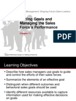 Chap 11 Tanner - Setting Goals &  Managing the Sales Force Performance 01 Feb 2017 (1).pptx