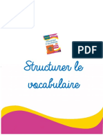 vocabulaire - cm2