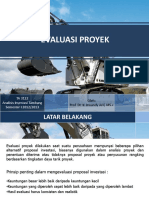 3. Evaluasi Proyek