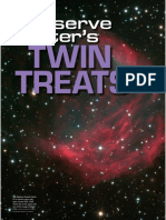Observe winter's twin traits