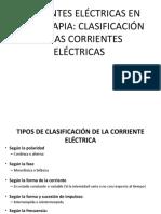 clase 3 CORRIENTE ELECTROTERAPIA