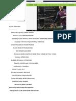 game PES spesifikasi laptop