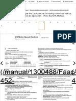 Puesta en marcha; Cheque led; Dirección de rotación y control de fuerza; Aprendizaje de los tiempos de funcionamiento - Faac 452 MPS Manual [Page 8]