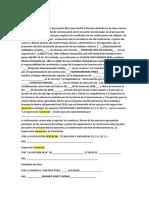 NOTA APERTURA de BITACORA DE OBRA