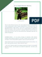 The Plan to Topple Pakistan Military