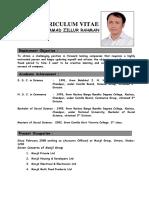 CV of Md Zillur Rahman