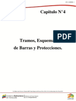 CAPITULO N°4 TRAMOS, ESQUEMAS DE BARRAS Y PROTECCIONES.