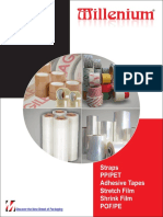Packaging Consumables | PP Strapping Rolls | BOPP Tapes | Shrink Films | Stretch Films | PET Straps
