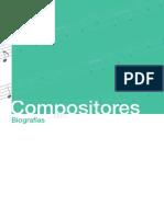 Dando la nota I  Compositores