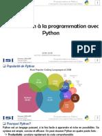 1. Introduction à la programmation avec Python