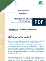 Management de Projet de l'Entreprise (1)