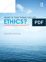 This thing called Ethics