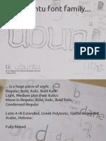 Font Development