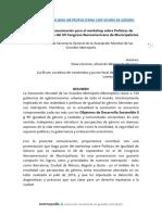 Paper_Movilidad Metropolitana con enfoque de género