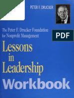 Lessons in Leadership  workbook