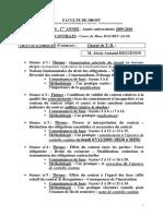 TD droit des contrats 2009-2010 1er semestre-1