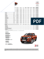 hilux-specification-sheet