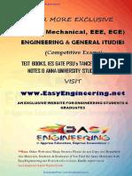 ME8491 EMM notes - By www.EasyEngineering.net 4