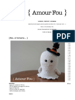 { Amour Fou _ Crochet }_ { Boo, el fantasma... }