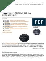 À L'ÉPREUVE DE LA RÉÉCRITURE.pdf