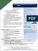 Programme Pratique avancée du management de projet