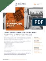 PRINCIPALES MESURES FISCALES