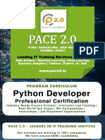 PACE 2.0 Syllabus Python Developer Program