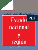 Estado nacional e región