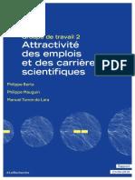 Attractivite des emplois et des carrieres scientifiques
