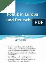 Politik in Europa und Deutschland 3