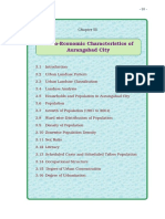 Socio economic profile of aurangabad