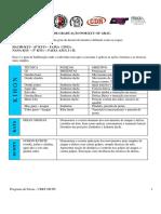 Programa de Faixas - CBKT-FKTPr