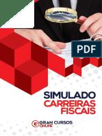 Simulado Carreiras Fiscais - Com Gabarito-1