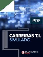 Simulado Carreiras TI - Sem Gabarito