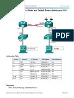2.2.2.5 Lab - Configuring IPv4 Static and Default Routes_Swinburne_V1.0(1)