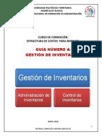 GUÍA 4 INVENTARIOS