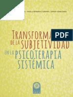 Transformación de la sujbetividad en la psicoterapia sistémica