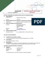 Potassium Titanium Oxalate MSDS