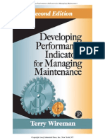 Developing Performance Indicators for Managing Maintenance - 0 Introduction
