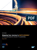 Mapping Your Journey to SAP S_4HANA