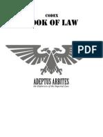 Adeptus Arbites Codex