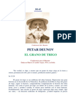 Peter Deunov - El grano de trigo