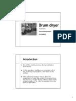 Drum dryer
