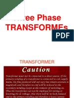 3. Three Phase Transformers